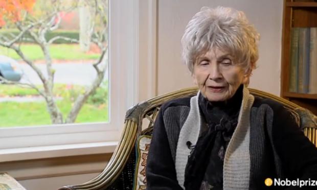 爱丽丝·门罗的诺贝尔奖谈话:在她自己的文字中