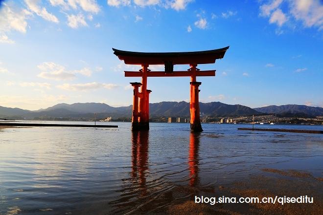 【日本】广岛,严岛神社与弥山彩林