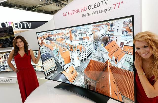 CES下一代电视潮流:曲面屏、4K、智能化