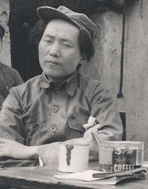 毛泽东罕见照片