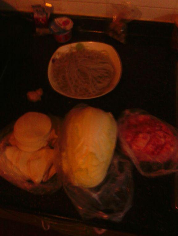 娃娃菜粉条肉饺子的做法