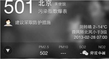 北京的优质空气,6年总共25天