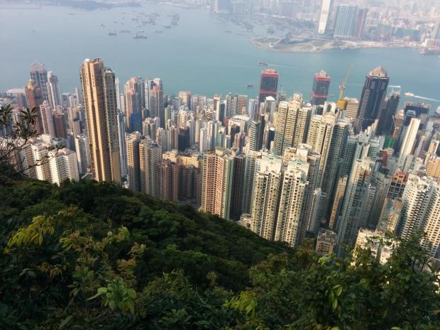 香港的小与大