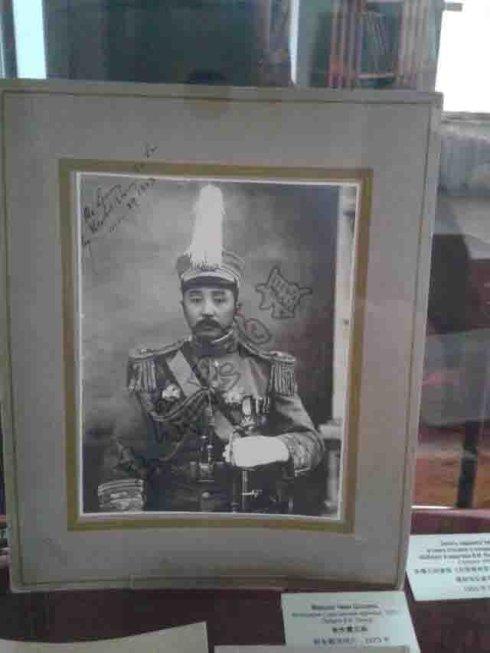 军阀张作霖赠给列宁什么礼物?