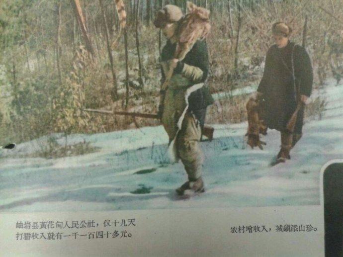 建国初东北狩猎图