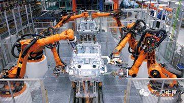【旁观日记】工资涨了,于是中国企业买了好多机器人