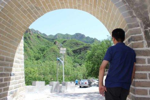 探访原生态长城