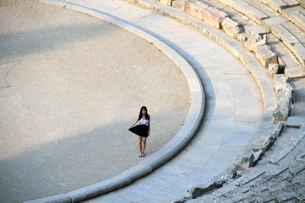 古希腊的剧院 Epidaurus Theatre