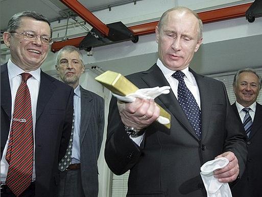 普京的俄罗斯银行行长