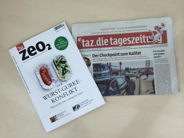 德国合作社报纸TAZ——独立报纸的一种可能性
