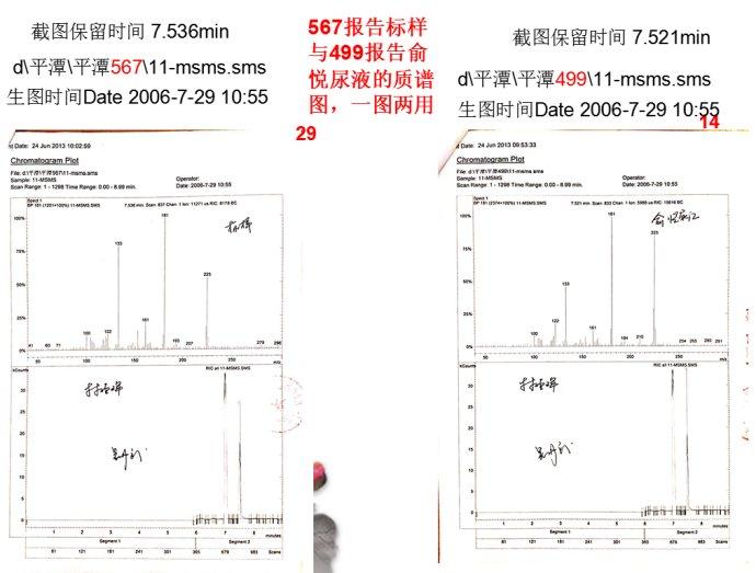 念斌辩护词,鱿鱼之殇(三)质谱图,现场从来就没有氟乙酸盐毒物