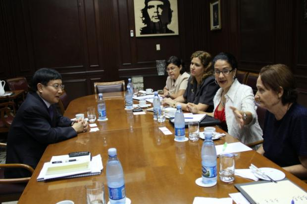 对话古巴银行业
