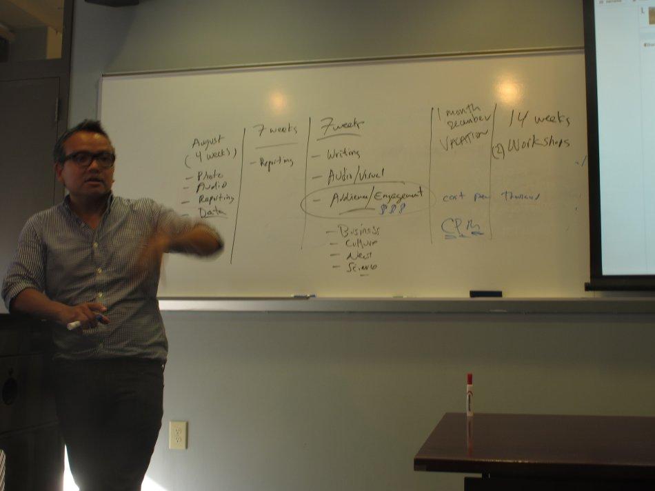 美国行之四:哥伦比亚大学怎样培养新媒体记者