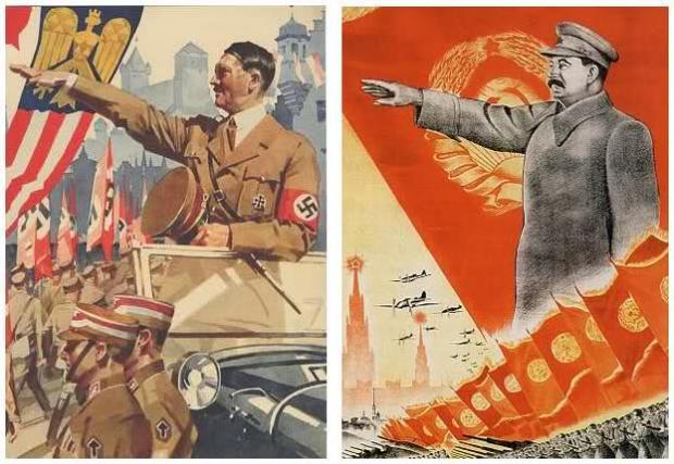 纳粹与希特勒:姓左,还是姓右?