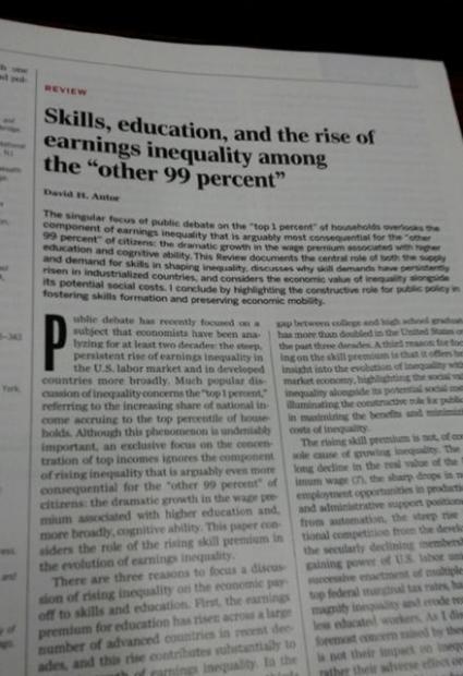 中国收入分配不公引起西方主流学术界关注