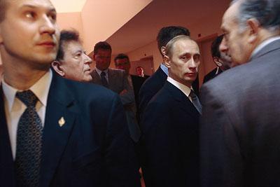 普京冷战2.0时代的安全警卫