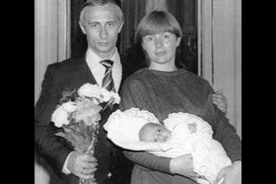 普京和他的女儿们