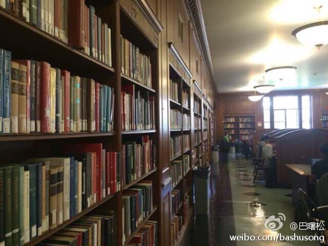 哥大掠影:东亚图书馆
