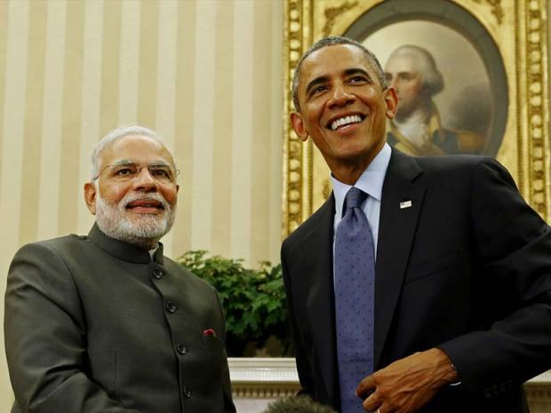 印度在战略上向美国靠拢