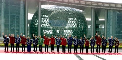 上海APEC  领袖今安在