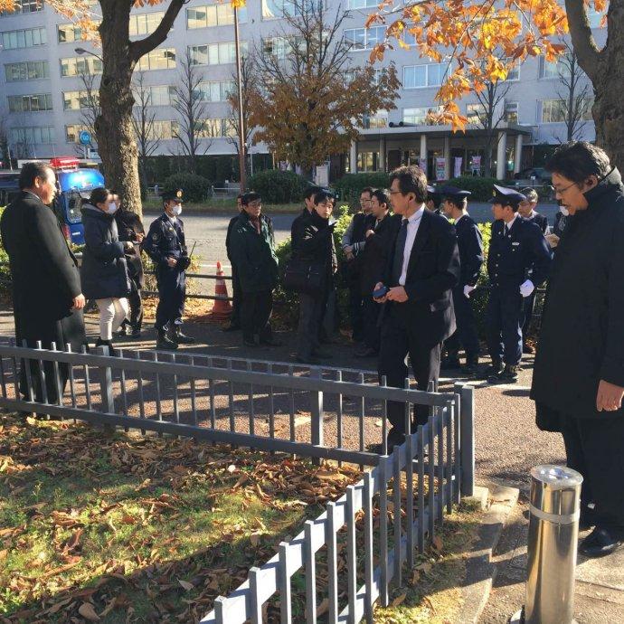 在日本外务省磋商中华唐鸿胪井刻石回归问题