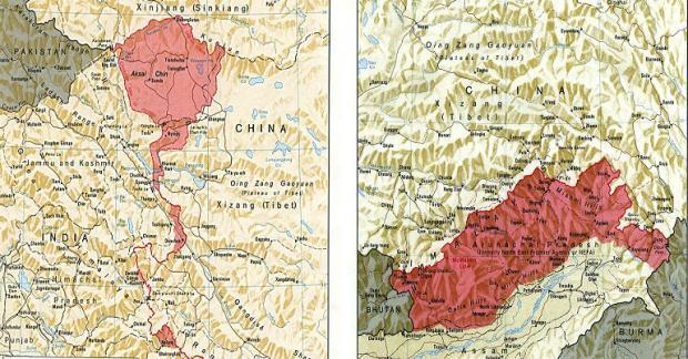 中印按现状处理边界问题在所难免