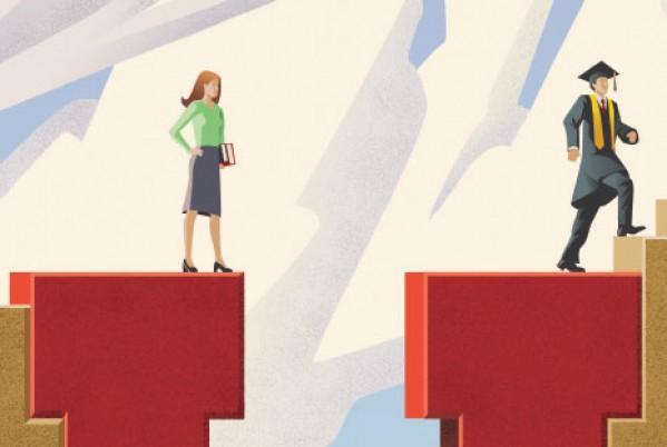 哪些中东北非国家在解决性别差距上领先其他阿拉伯国家?