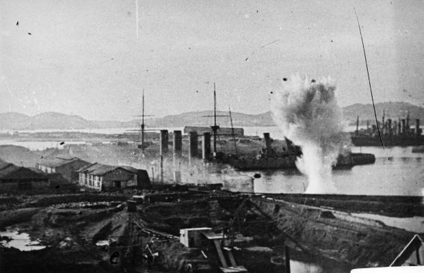 阻击沙俄军船纪实