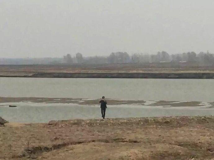 东北德惠松花江的春天