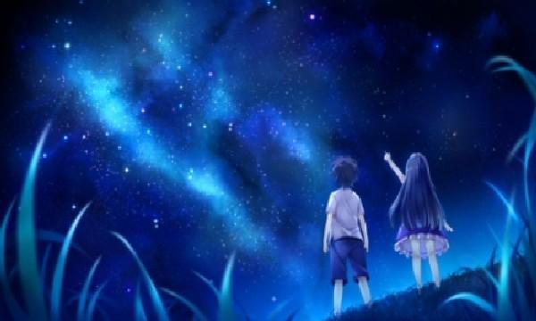 吟诗在四月,望星越千年