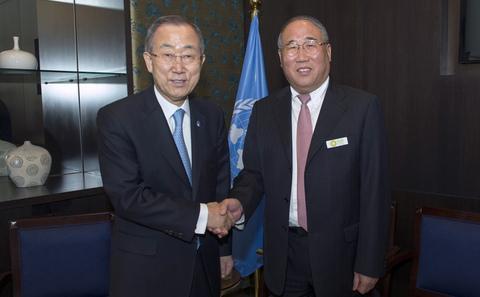 解振华任中国气候变化事务特别代表