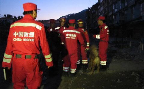 尼泊尔地震:中国救援受困水利工人