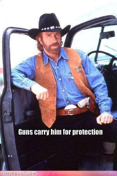 人人持枪的德克萨斯:上帝都怕