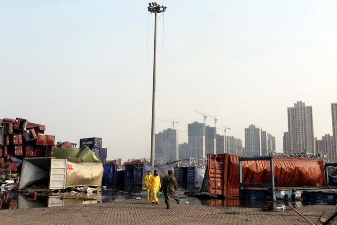 【俯卧撑】再难再险也不能缺席天津港大爆炸