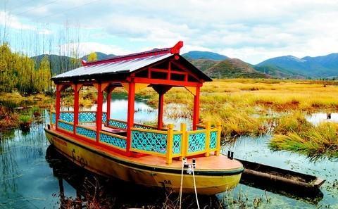 机动船能否驶进泸沽湖?