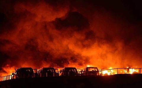 天津开发区大爆炸,周边化工产业密集