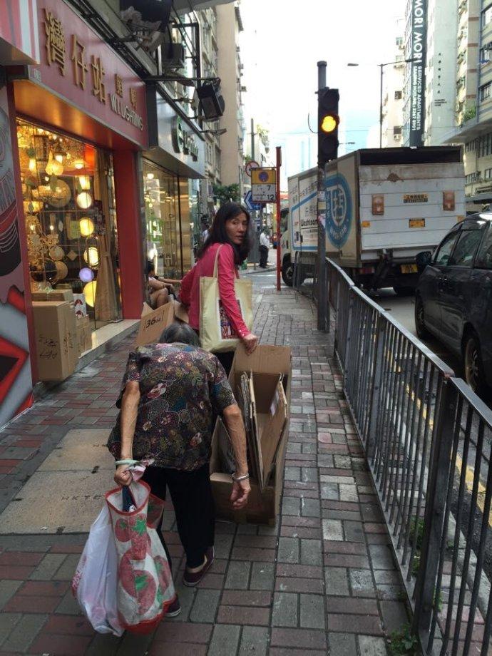 在香港收获感动