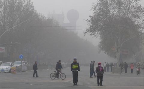 中国颁布新的《大气污染防治法》