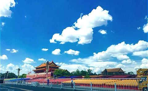 北京似乎可自由调控天空