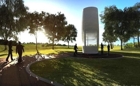 抗霾新创意:北京将迎来世界最大吸尘器