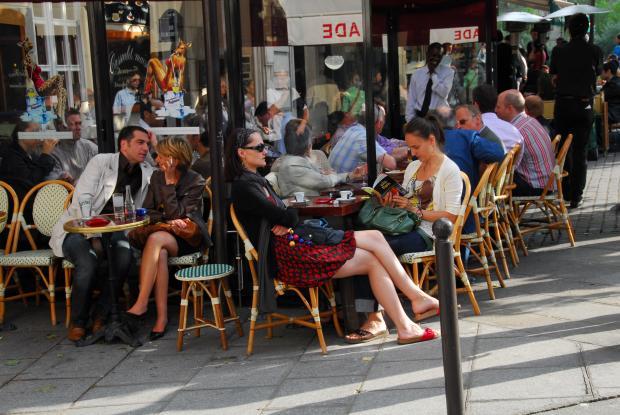 巴黎印象(1) · 大街小巷里的咖啡馆