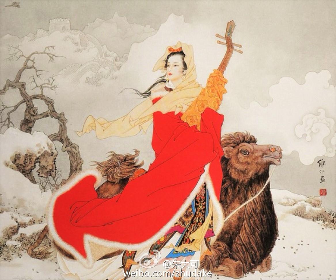 """朱大可:王昭君高歌""""欢乐颂"""""""