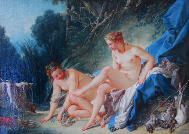 巴黎印象(5)•卢浮宫里的画