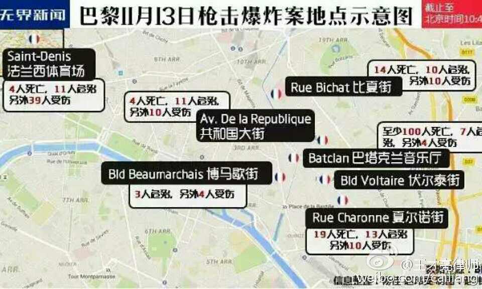 #解读巴黎恐怖袭击#巴黎,离我们多远?