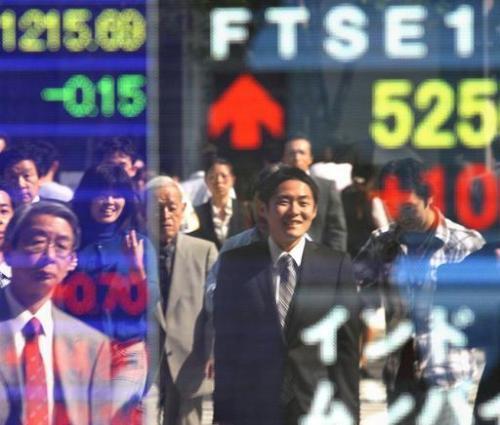 中国PMI数据平平  亚洲股市回落