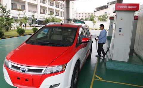中国的电动汽车推广坎坷