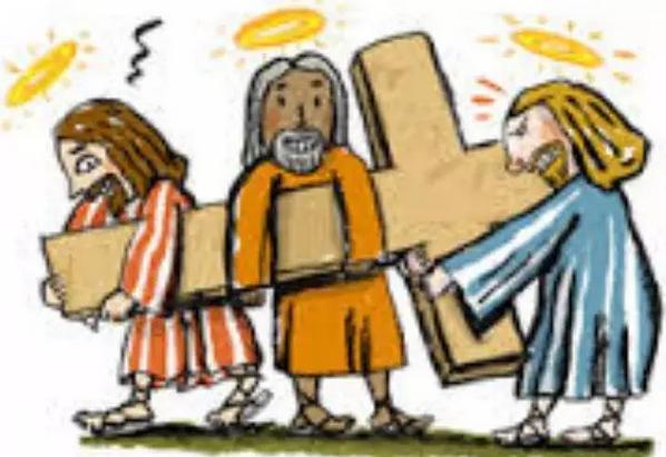 当三个自称上帝的精神病人一起时,发生了什么?