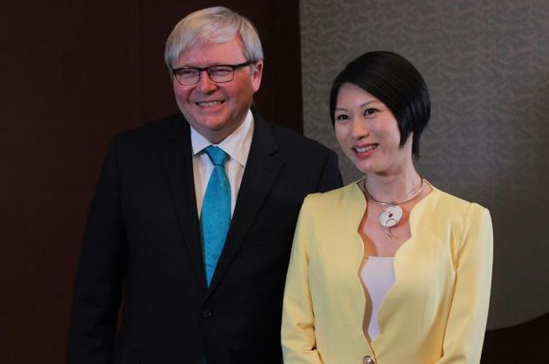 陆克文:不能让贸易政策分裂亚洲