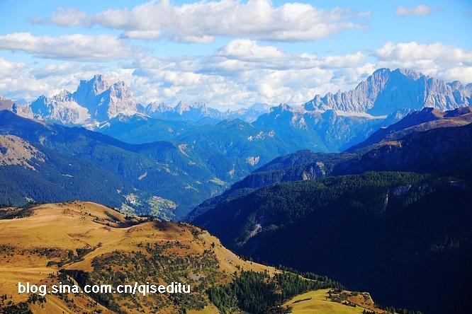 【意大利】白云石山,美到极致