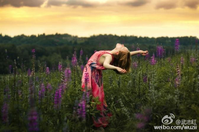展开你的心,绽放你的生命